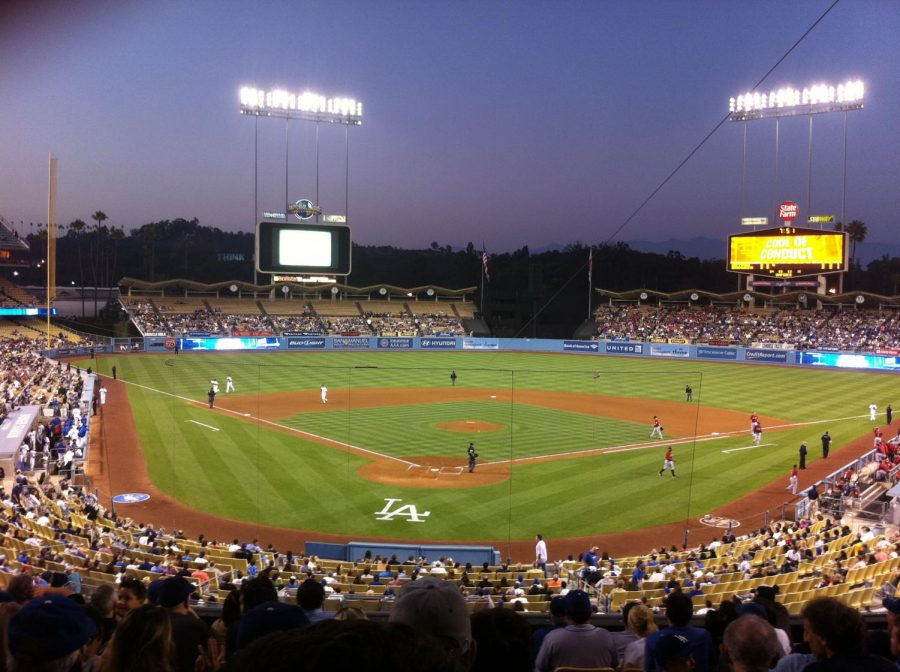 Seen+here+is+Dodger+Stadium+where+two+of+the+six+grand+slams+were+hit+on+May+21%2C+2000.
