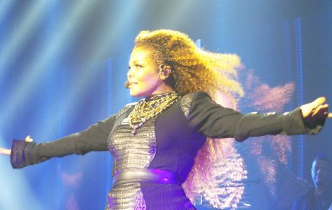 Janet Jackson started a eight week run at No.1