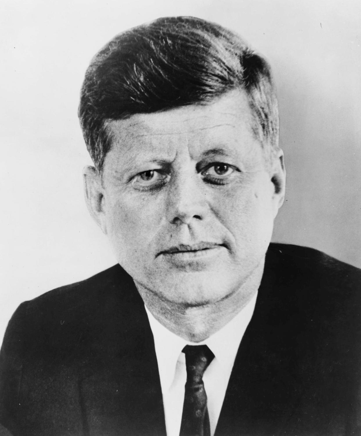 This is a picture of former US President, John F. Kennedy.