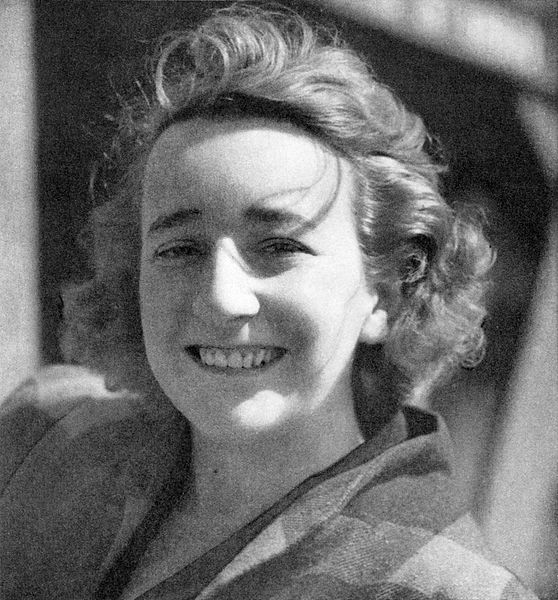 This is picture of American Dramatist, Lillian Hellman.
