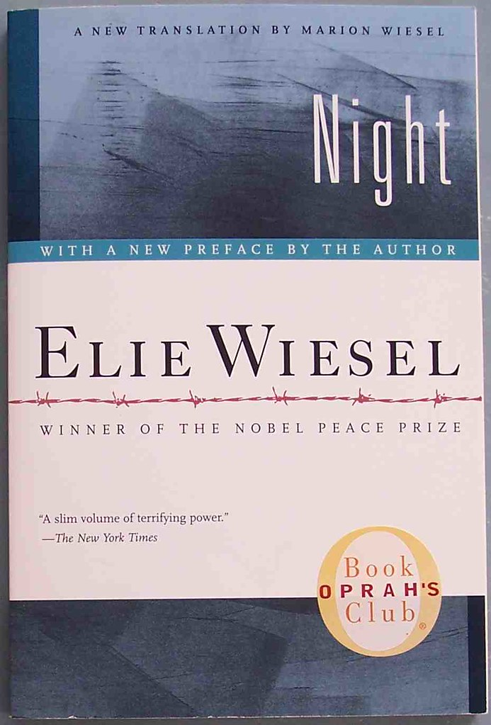 Wrenching hearts and bringing tears in the eyes, Night by Elie Wiesel informs readers about the atrocities of the Holocaust from first hand experience.
