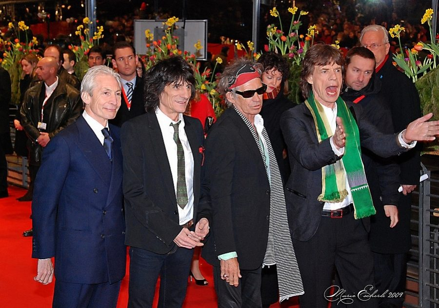 Walking the red carpet, The Rolling Stones are back in the music industry.