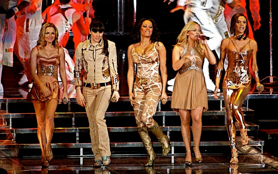 Performing at the concert, The Spice Girls reached number one on the charts.