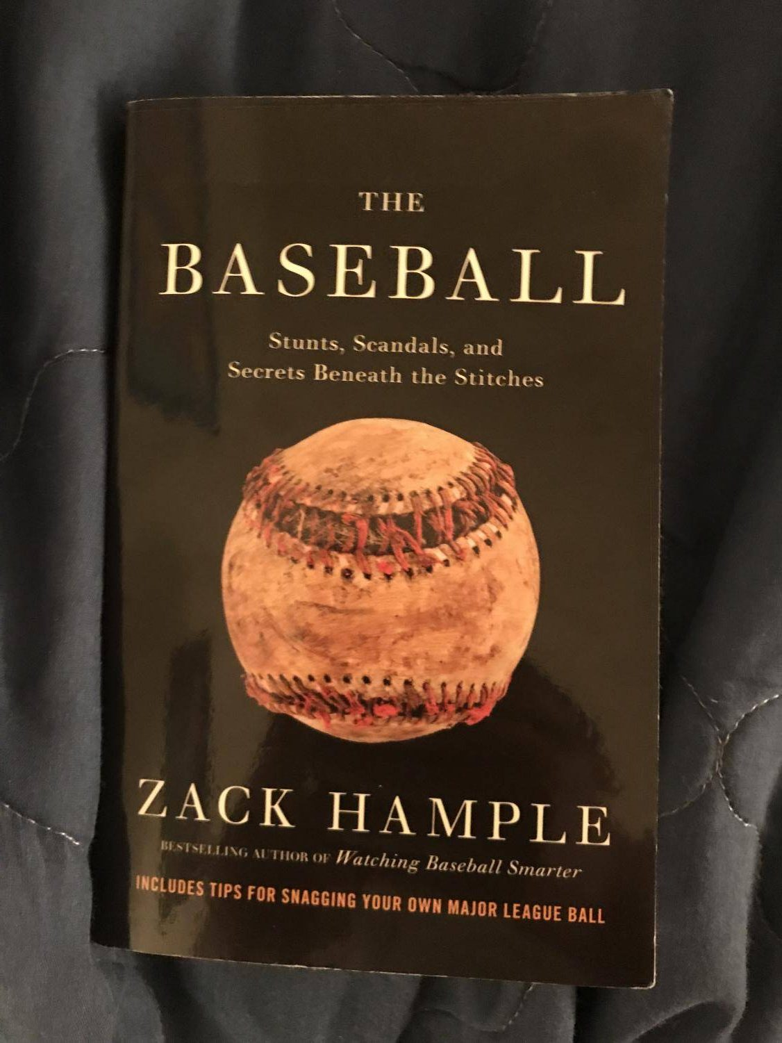 Because of it's information, anyone can try to catch their own baseball at a Major League Baseball Game like Zack Hample.