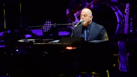 Billy Joel started a six week run at No.1