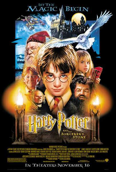 The first Harry Potter book and movie of the series.