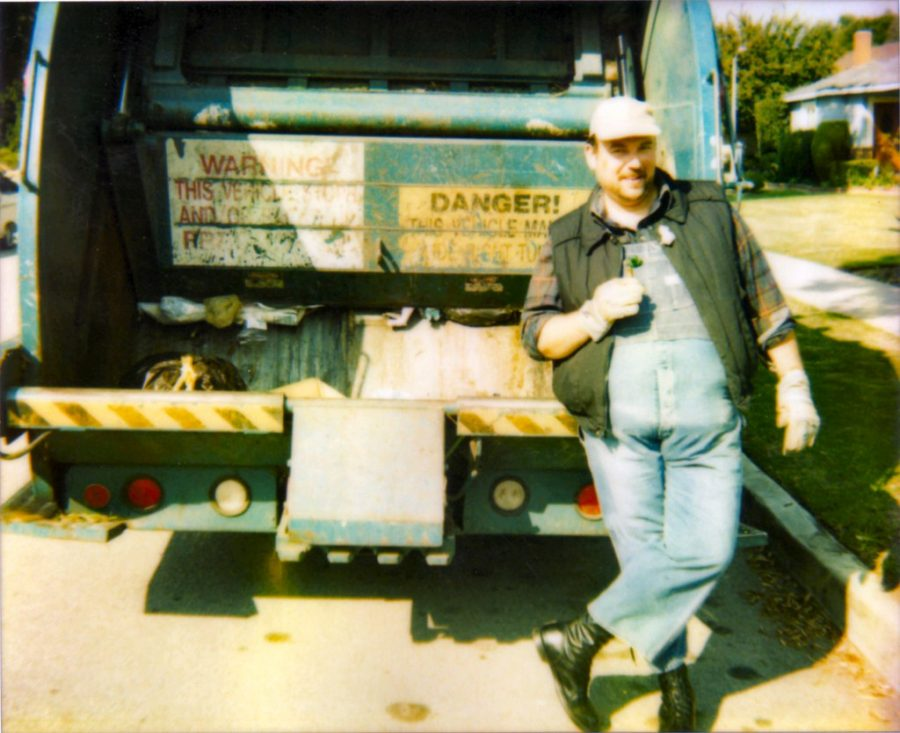 A garbage man could be an example of a scavenger.