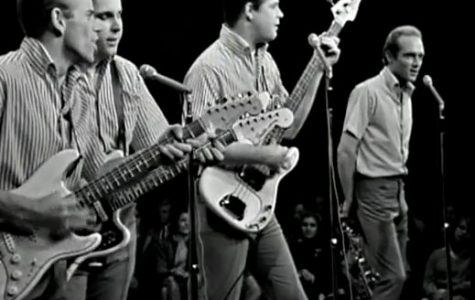 The Beach Boys started a two week run at No. 1