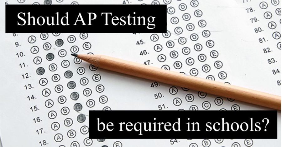 Due to the amount of paper, College Board has recently turned to some AP tests being electronic.