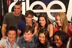 Behind the scenes of glee