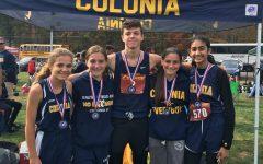 Freshman conquer cross country GMCs