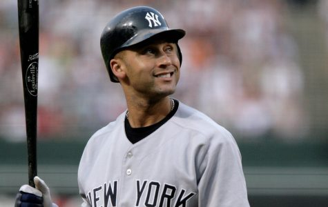 November 1- Derek Jeter hits first home run in November