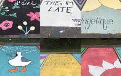 Vandalism drawn on newly painted senior parking spots dampens opening day