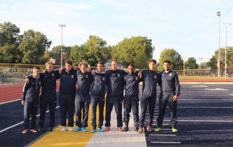 Boys soccer felicitate their seniors