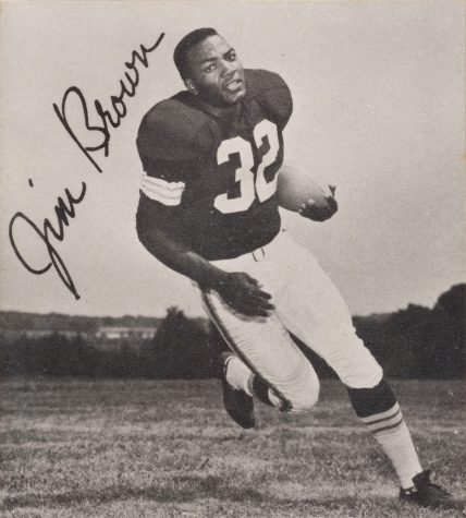 October 20- Jim Brown sets single season rushing record
