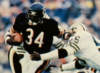 October 7th- Walter Payton passes Jim Brown as NFL's career rushing leader
