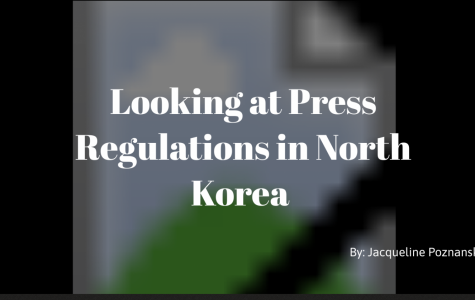 Looking at press regulations in North Korea