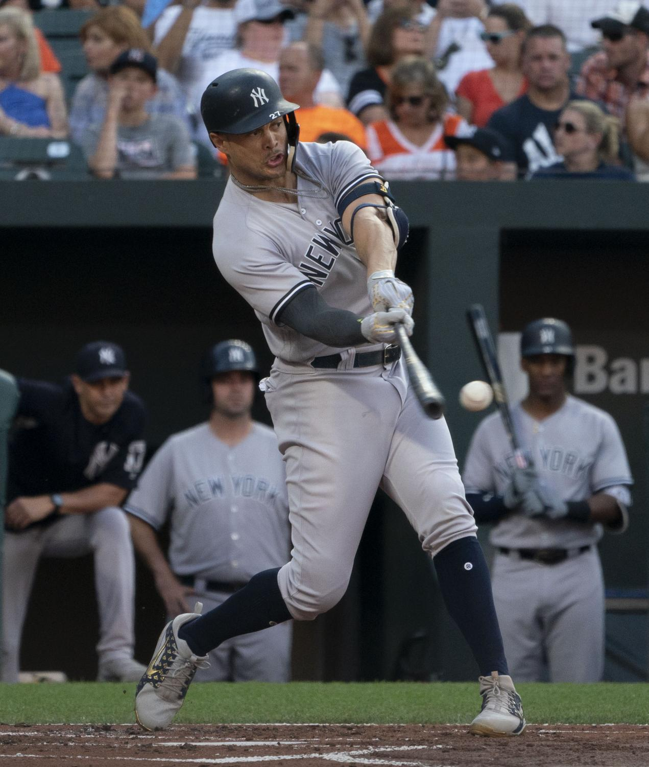 Giancarlo Stanton is one of several athletes that has become victim of the increase of injuries in modern sports