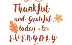 Why you should give thanks all year long