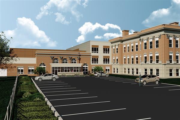 Woodbridge Middle School changes school dynamic at Colonia