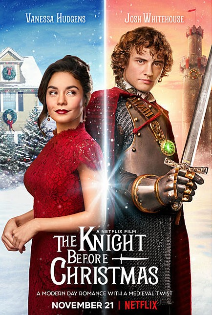 Vanessa+Hudgens+and+Josh+Whitehouse+stars+in+Netflix%27s+new+movie+The+Knight+Before+Christmas.