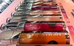 To keep customers interested, they display a variety of lip glosses to chose from
