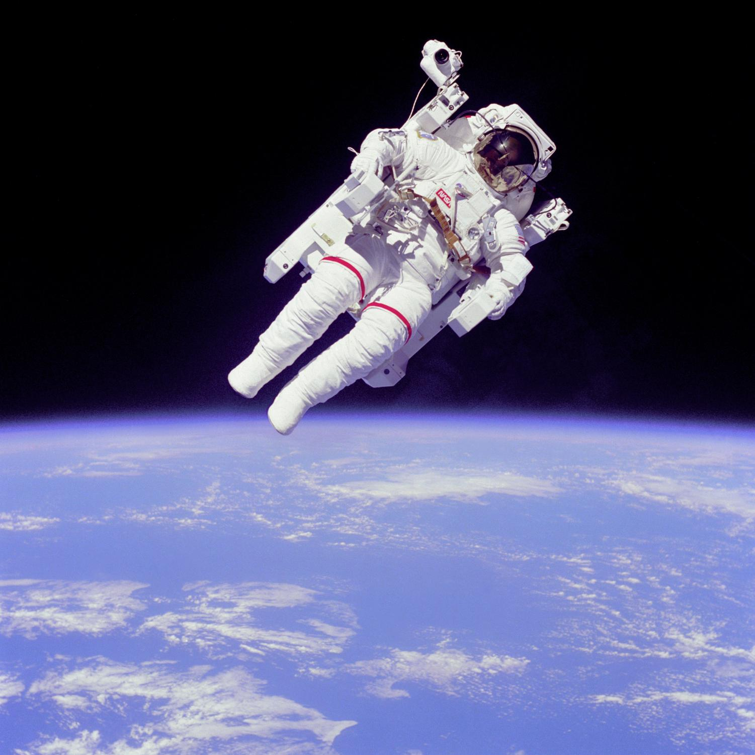 Astronauts are trained to be space professionals