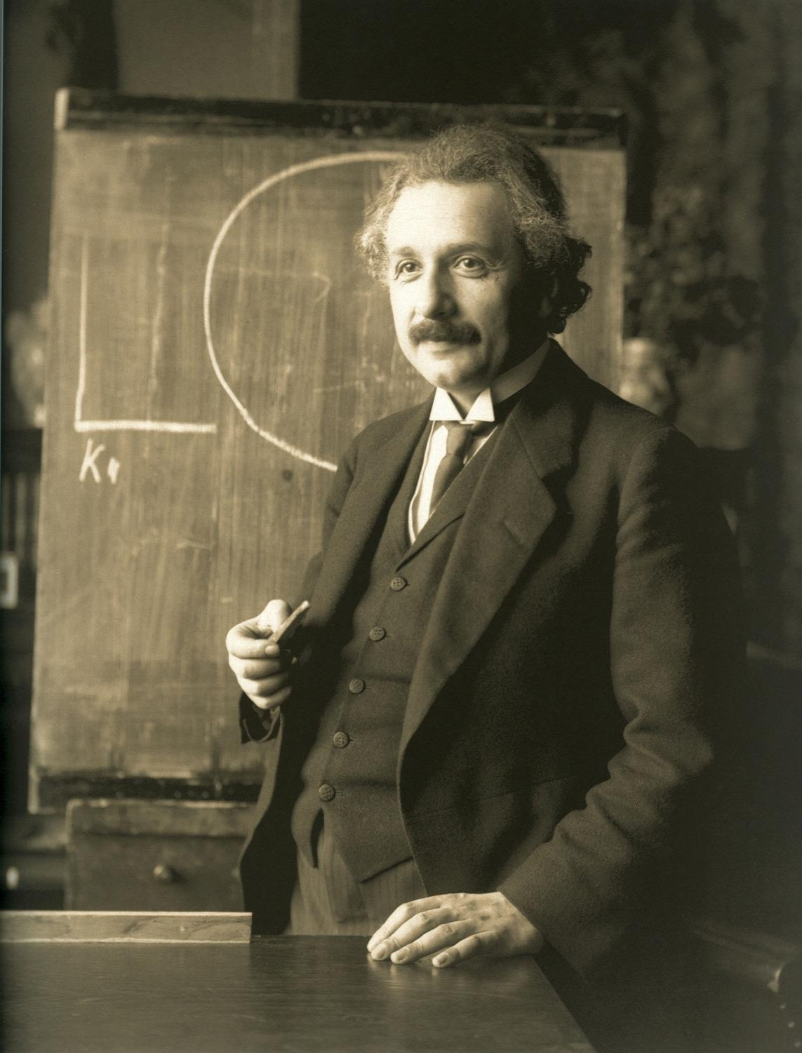Albert Einstein was a German-American physicist and probably the most well-known scientist of the 20th century.
