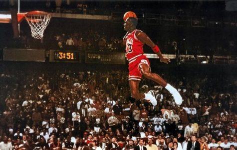 January 25- Jordan scores 10,000th NBA  point