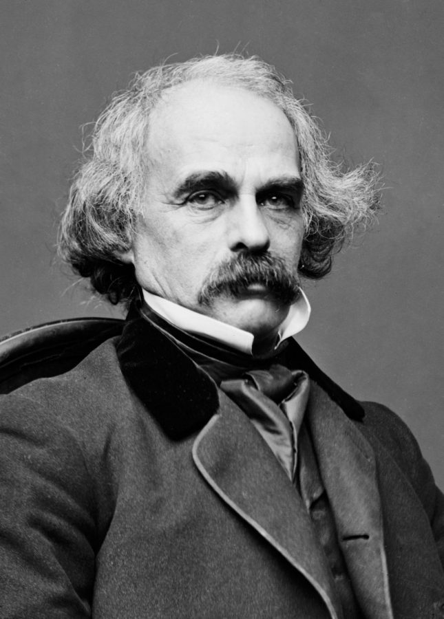Nathaniel+Hawthorne+was+an+American+novelist%2C+dark+romantic%2C+and+short+story+writer.+His+works+often+focus+on+history%2C+morality%2C+and+religion.+He+was+born+in+1804+in+Salem%2C+Massachusetts%2C+to+Nathaniel+Hathorne+and+the+former+Elizabeth+Clarke+Manning.+