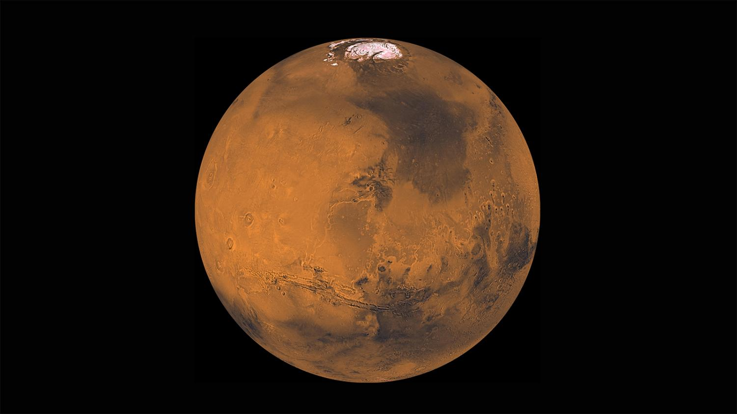 Mars is between 33.9 million and 250 million miles from Earth