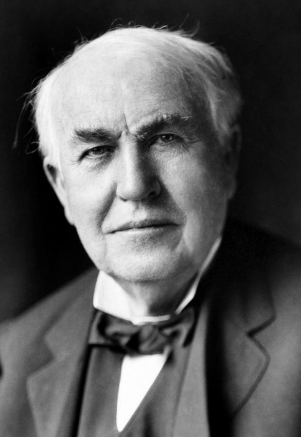 Thomas+Alva+Edison+was+an+American+inventor+and+businessman+who+has+been+described+as+America%27s+greatest+inventor.+He+developed+many+devices+in+fields+such+as+electric+power+generation%2C+mass+communication%2C+sound+recording%2C+and+motion+pictures.