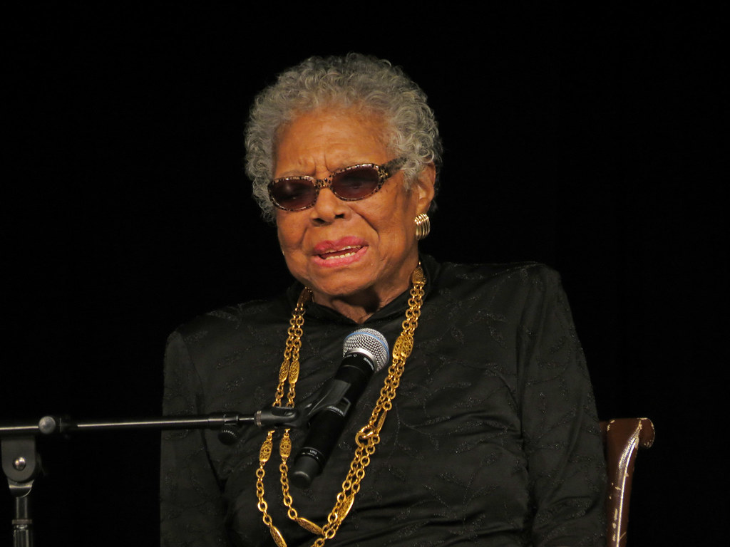 Maya Angelou was a civil rights activist, poet and award-winning author known for her acclaimed 1969 memoir, 'I Know Why the Caged Bird