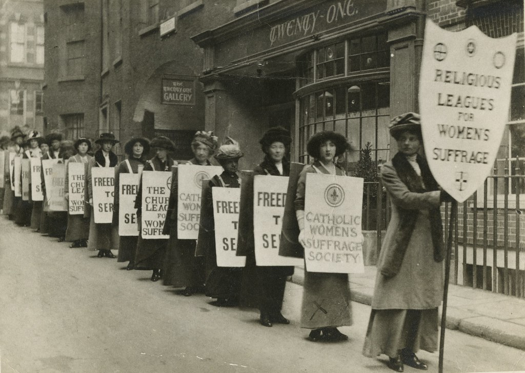 Building up to the ratification of the 19th Amendment, women in the US fought for about one hundred years for the right to vote.