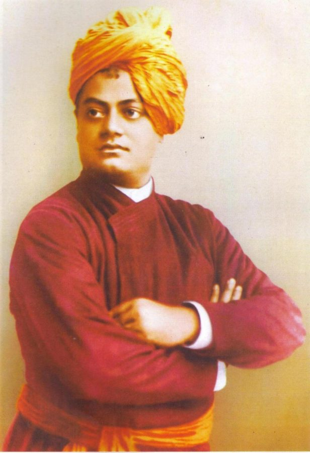 Vivekananda+founded+the+Ramakrishna+Math+and+the+Ramakrishna+Mission.+He+is+perhaps+best+known+for+his+speech+which+began+with+the+words+-+%22Sisters+and+brothers+of+America+...%2C%22+in+which+he+introduced+Hinduism+at+the+Parliament+of+the+World%27s+Religions+in+Chicago+in+1893.