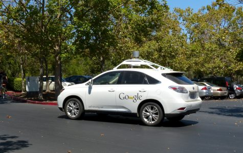Self-driving cars can be seen in Teslas, Google Cars, etc.