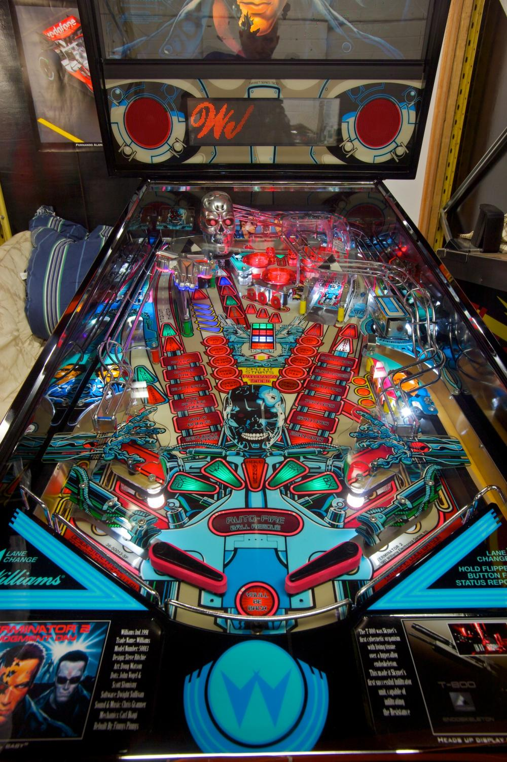 Pinball machines are seen in many different casinos