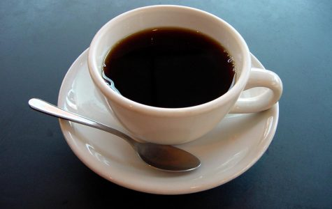 Coffee contains caffiene.