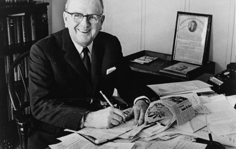 Norman Vincent Peale was an American minister and author known for his work in popularizing the concept of positive thinking, especially through his best-selling book The Power of Positive Thinking.