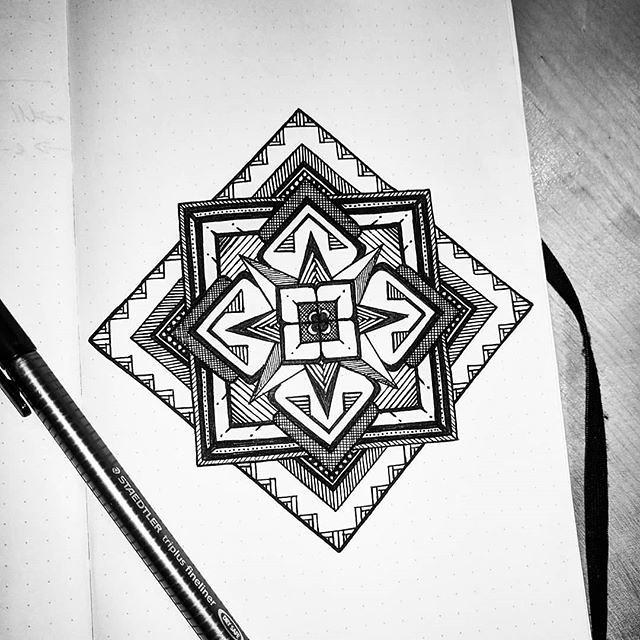 Doodling is usually done in notebooks