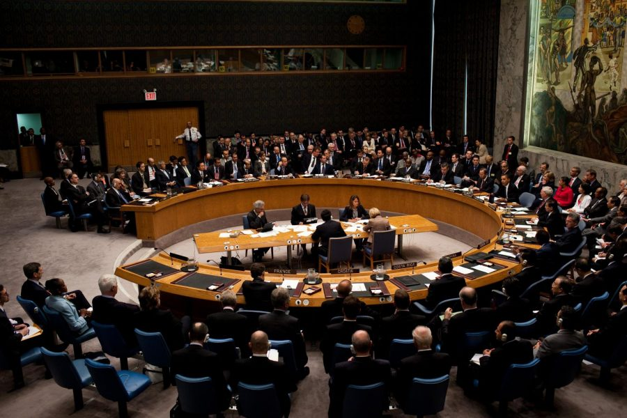Delegated from all over the nation are in the united nations.