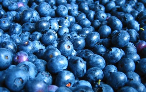 Blueberries are relaxing