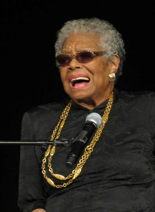 Maya+Angelou+was+an+American+poet%2C+singer%2C+memoirist%2C+and+civil+rights+activist.+She+published+seven+autobiographies%2C+three+books+of+essays%2C+several+books+of+poetry%2C+and+is+credited+with+a+list+of+plays%2C+movies%2C+and+television+shows+spanning+over+50+years.
