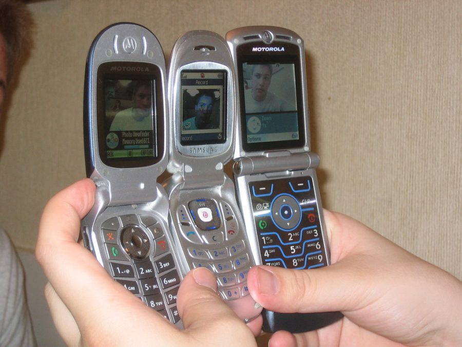 Cell phones became ubiquitous.