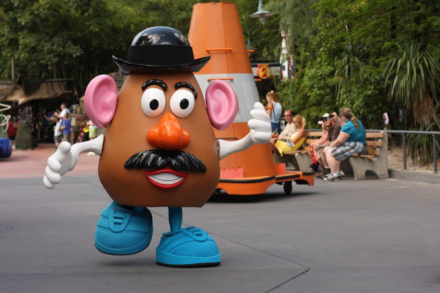 Mr. Potato Head was created by Walt Disney Studios