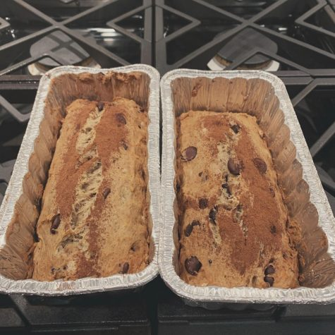 Banana chocolate chip bread is the perfect dessert for your family.