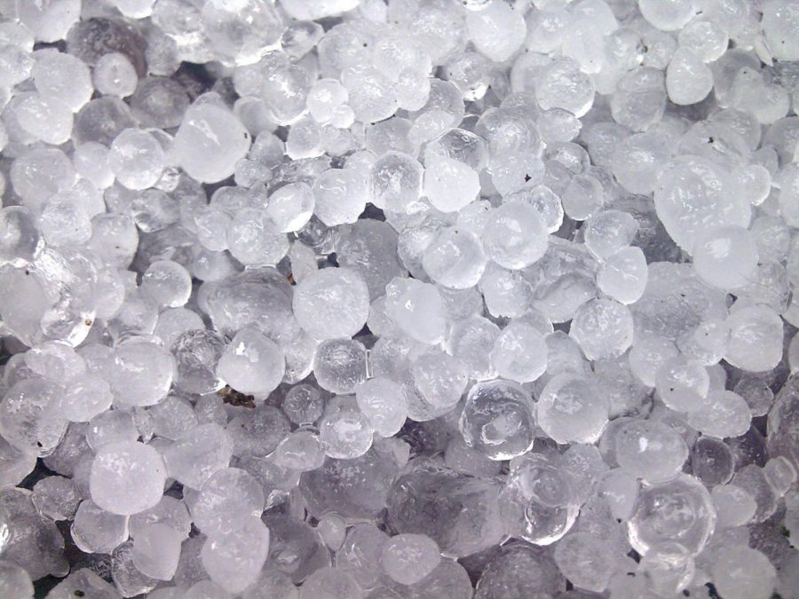Hail is a type of percipitation