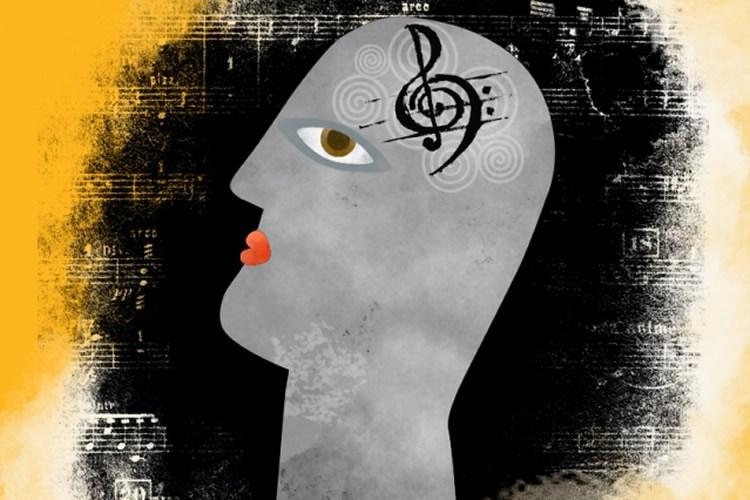Music symbol in the brain