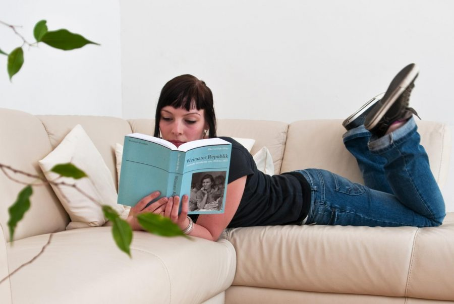 Reading is a very calming hobby many people pursue