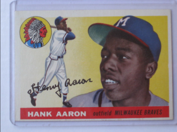 On this day in 1954 Hank Aaron made his MLB debut